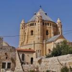Die Dormitio-Abtei steht auf dem Gelände, auf dem sich der Abendmahlssaal befand.